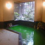 24時間ご入浴可能な薬草風呂で旅の疲れを癒してください♪(写真は男性風呂)